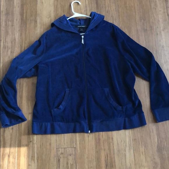 Ashley Stewart Jackets & Blazers - Ashley Stewart zip hoodie